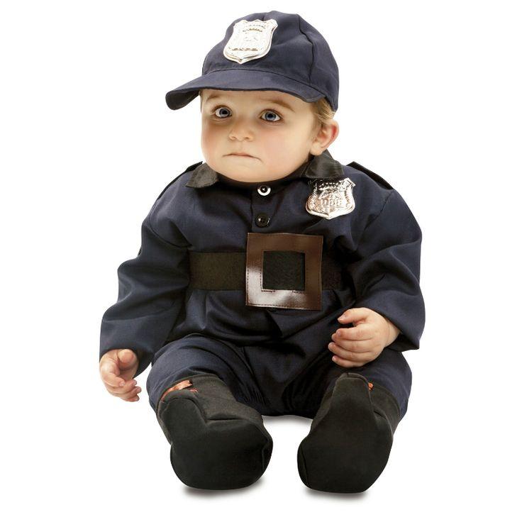 Costume Police Bébé #déguisementsenfants #costumespetitsenfants