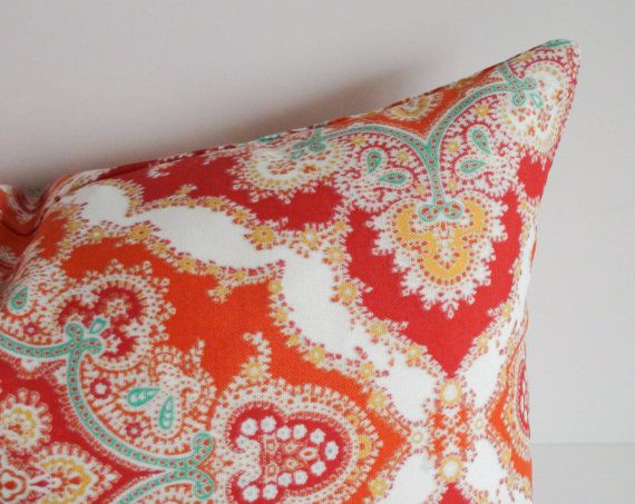 Add A Pretty Pop Of Color To Your Outdoor Space With This Outdoor Pillow  Cover.