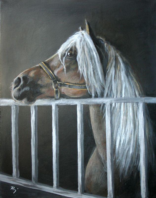 painting by lilaló   Paragi Melinda