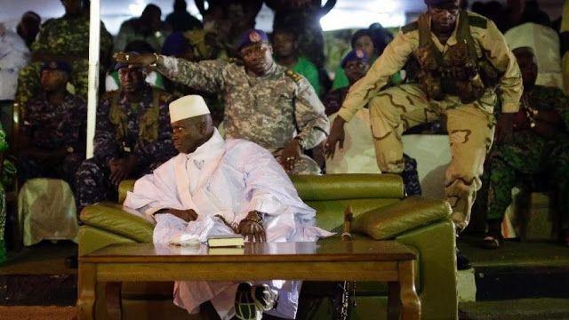 Presiden Gambia terus diancam negara tetangga  Presiden Yahya Jammeh  Presiden terpilih Gambia Adama Barrow telah mengadakan pembicaraan dengan Yahya Jammeh membahas penyerahan kekuasaan secara damai. Pembicaraan berlangsung di ibukota Banjul pada Jum'at (13/1). Delegasi Afrika Barat yang ikut serta diantaranya Presiden Nigeria Muhammadu Buhari pemimpin Liberia Ellen Johnson Sirleaf dan Presiden Ghana John Mahama. Atas nama ECOWAS (forum ekonomi Afrika Barat) mereka mencoba membujuk Jammeh…
