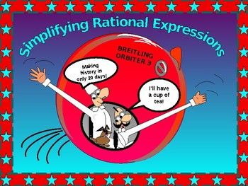 "Excited to share this power point on ""Simplifying Rational Expressions with GUIDED NOTES"" * Students begin the lesson with a review of key terms, explaining in their own words and giving examples. * Students note similarities and differences between rational numbers and rational expressions. *"