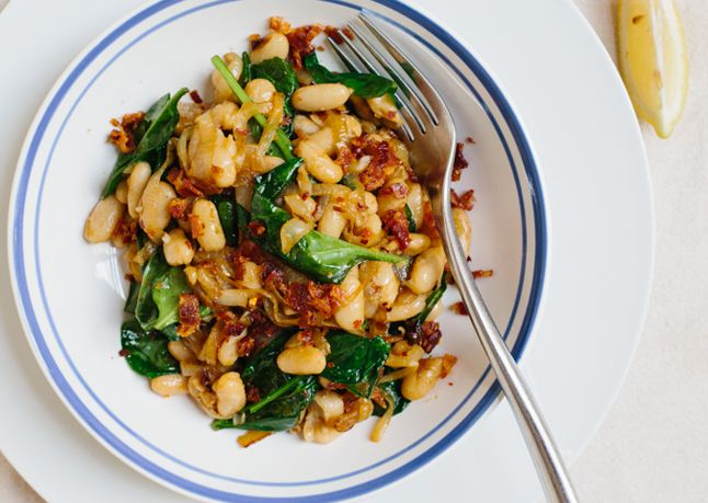 Bon Appetit: 12 things to do with a can of cannellini beans. I see many things I'd like to try.