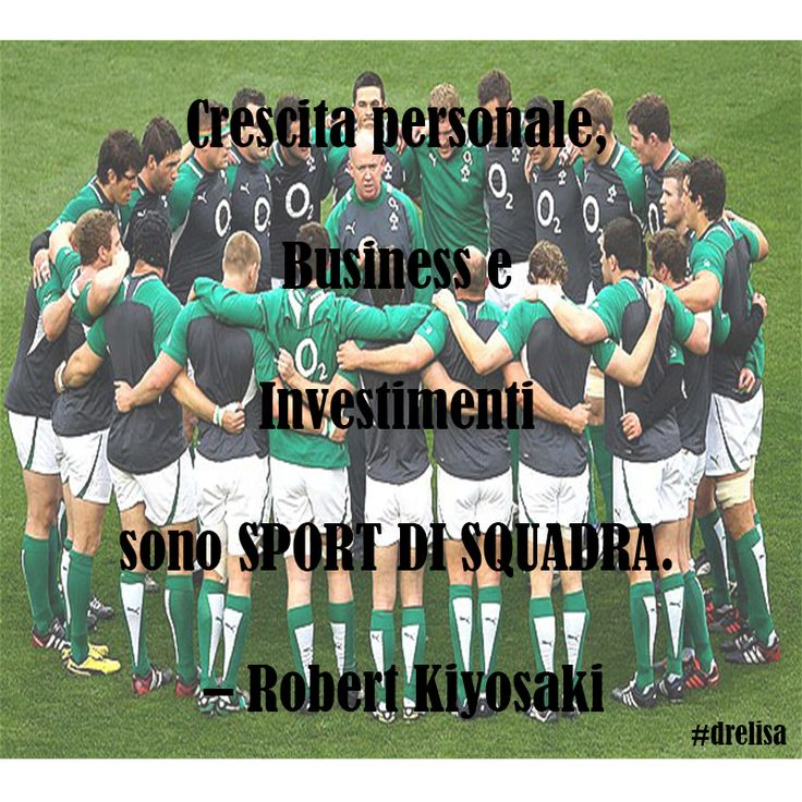 Business and investing are team sports