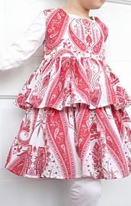 Tiered Ruffle Dress for Girls