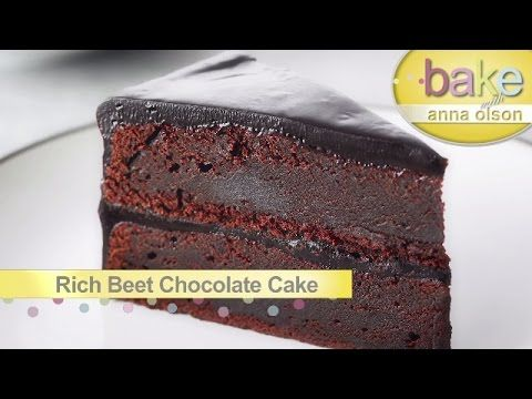 Rich Beet Chocolate Cake | Bake with Anna Olson - YouTube