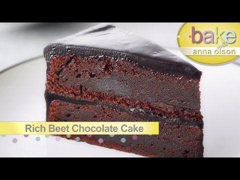 Como Hacer Pastel Mousse de Chocolate   Reposteria con Anna Olson (Español) - YouTube