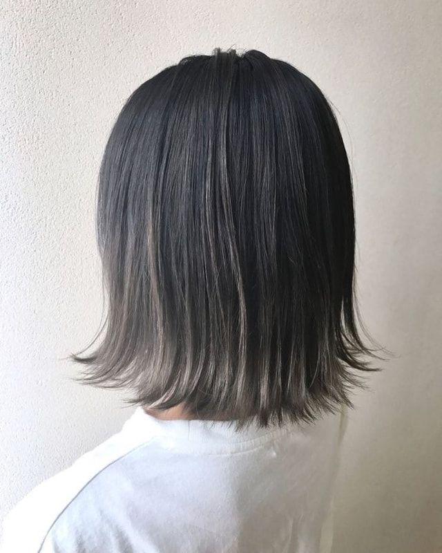 ベース 黒髪 グラデーション カラー 【2021】黒髪ベースのグラデーションカラー!レングス別カタログ