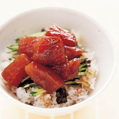 まぐろのづけ丼 | 藤野嘉子さんのどんぶりの料理レシピ | プロの簡単料理レシピはレタスクラブニュース