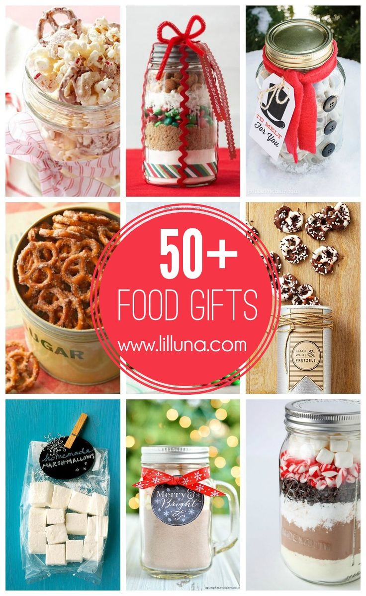 50+ Food Gifts - pefect for neighbors and friends this holiday season { lilluna.com }