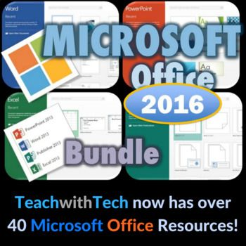 Microsoft Office 2016 Lessons and Activities 1. WORD Lessons •	Bulleted and Numbered Lists •	Bold, italics, Underline •	Align and Center Text •	Inserting (Tables, Pictures, Shapes, SmartArt, Charts, Header, Page Numbers, WordArt, Textboxes, Video) •	Page Layout (Page Size, Margins, Orientation, Page Color) •	References (Table of Contents, Bibliography, Endnotes and Footnotes, Citation) •	Mailings (Labels) •	Review (Spelling and Grammar, Thesaurus) •	View (Zoom, Print and Web...