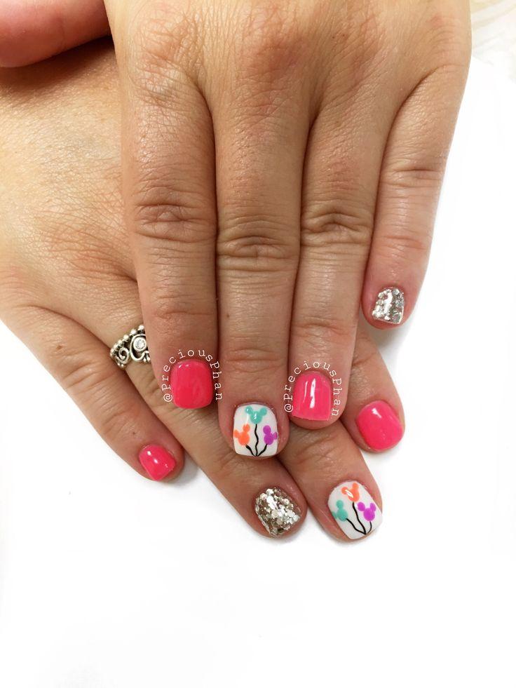 disneyland nails ideas