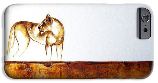 Lioness iPhone 6 Case by Tracey Armstrong
