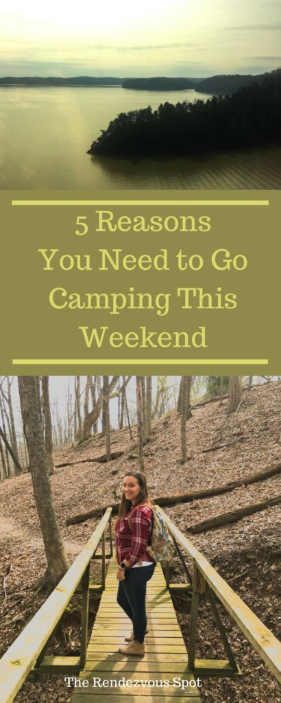 5 Reasons You Should Go Camping This Weekend Go Camping Camping Hacks Camping Essentials