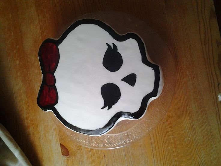 Luca's Monster High cake