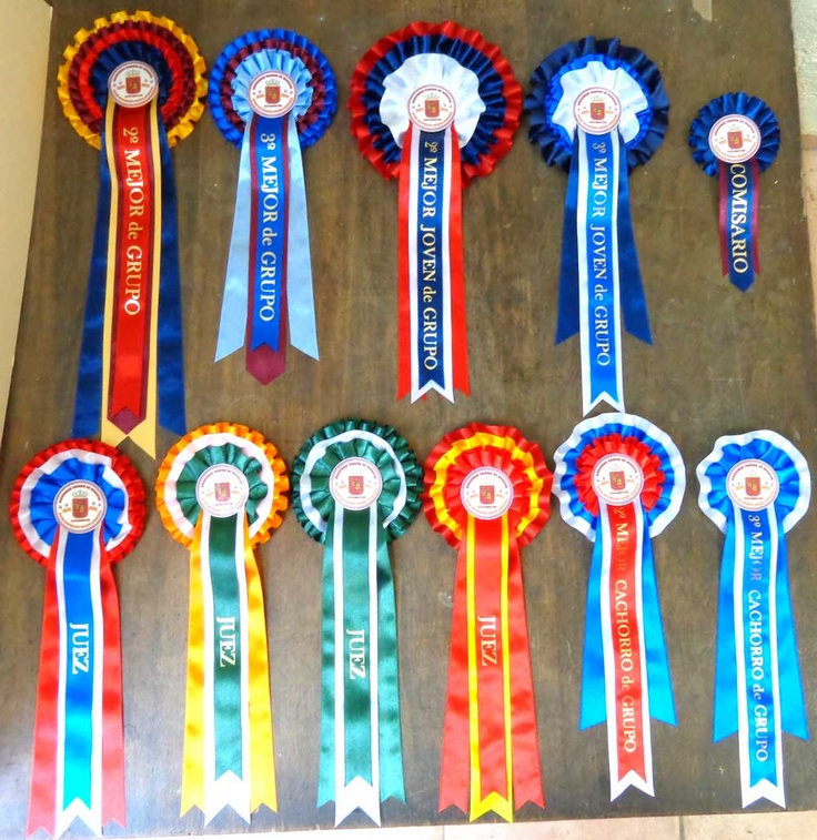 This image shows all 3 basic level Malaga Collections of Rosettes.  In order of expense: MalagaD, Malaga, MalagaLux Top left to right: MalgaLux x 2, Malaga x 2, MalagaLux x 1 Bottom left to right: MalagaD3Touter x 3, MalagaD3T x 2, MalagaD2T x 1  Let us know if any of these are suitable for your events? https://escarapelas.com