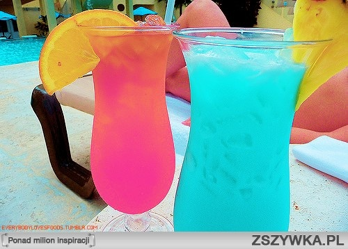 kolorowe drinki ;): Summer Drinks, Lemonade Recipes, Blue, Neon, Pools Drinks, Colors Drinks, Cold Drinks, Beaches Drinks, Cocktails