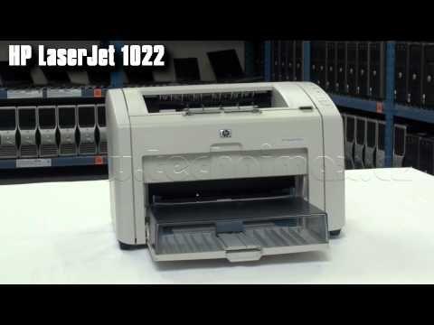 Tiskárna HP LaserJet P1022N se síťovou kartou, tonerem a kabelem