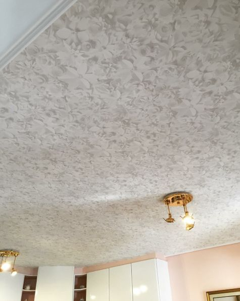 ... Behang Plafond op Pinterest - Plafonds, Drum Schaduw en Vintage Bureau
