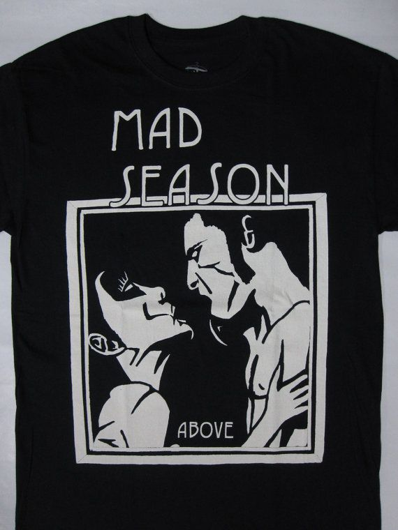 MAD SEASON - Above  t-shirt ( s-xxl ) top- hard rock /metal merch!!