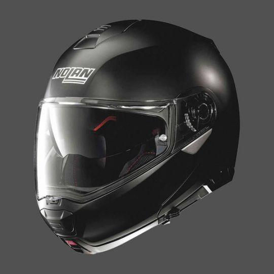 Nolan N100-5 Classic N-Com Helmet - Flat Black