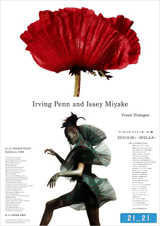 Irving Penn and Issey Miyake http://www.2121designsight.jp/program/visual_dialogue/