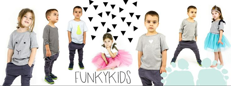 New collection spring summer 2014 FUNKYKIDS. Clothing for children. 100% cotton