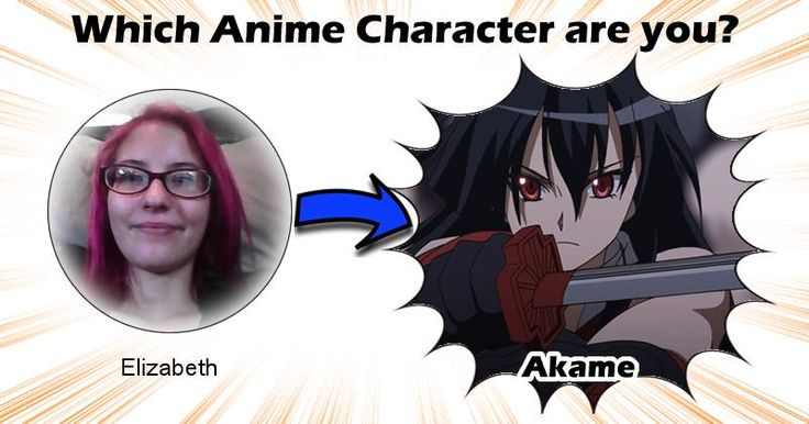 Which Anime Character Are You?