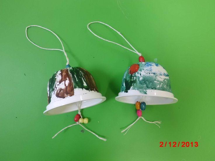 zvonečky z kelímků