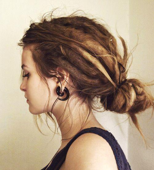 love love love dreadlocks with loose hair