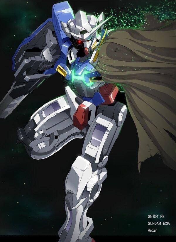 Gundam Exia Repair Gundam Gundam Exia Gundam Wallpapers Gundam exia wallpaper 4k