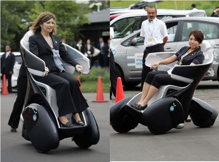 Futuristic Vehicle could be a new sport lol but great for handicapped