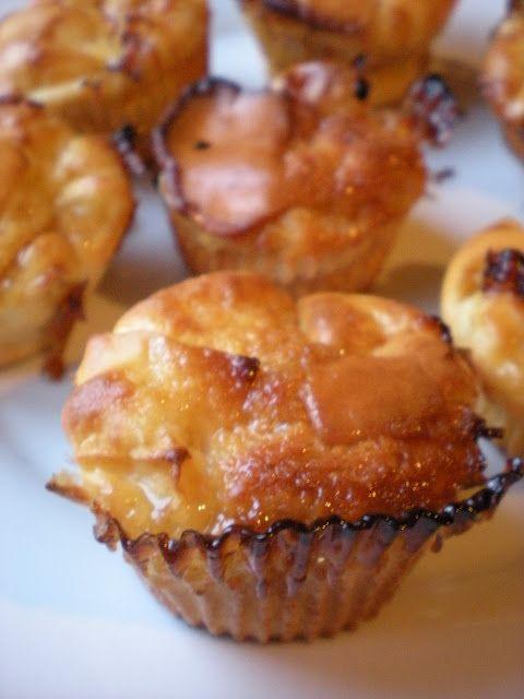 DANS L'ASSIETTE DES AUTRES: Mini fondants légers à la pomme et caramel au beurre salé (FR)