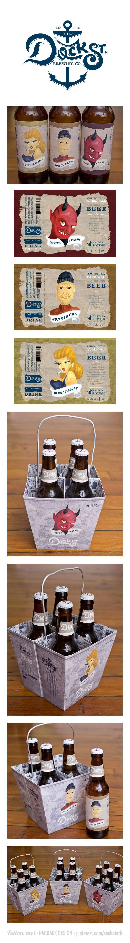 Cool Dock Street #beer #packaging PD