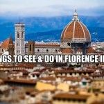 6 Things To See & Do In Florence In A Day  VIVA Tuscany Tours offers affordable Italy Tour Packages, Rome Day Tours and Tuscany Tours, where you will discover Italy's historic landmarks, landscapes, amazing food and wine, as well as other truly Italian traditions, including terracotta and leather making! Our Italy Travel Packers are one-of-a-kind! By Randy M. Creighton of VIVA Tuscany Tours