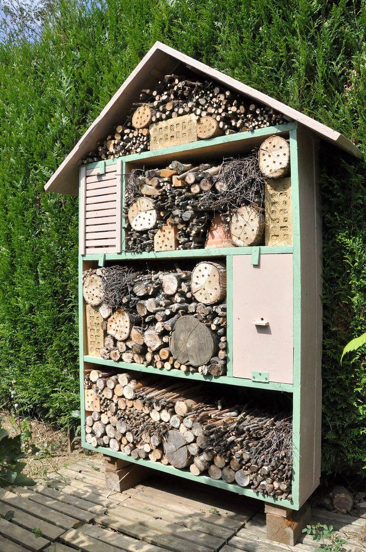 Une maison à insectes