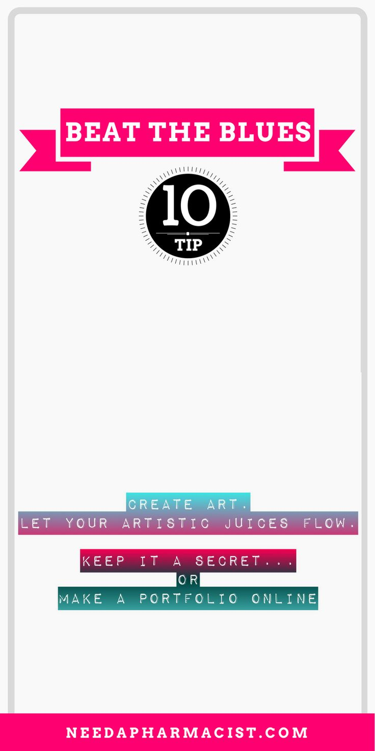 {Read more about this tip, and many others  by visiting the website, or Pin to save for later!} Creating art is personal, productive and offers many possibilities. Keep it to yourself, or share if with others, either way, it can help you discover talent and express your emotions in a healthy way.