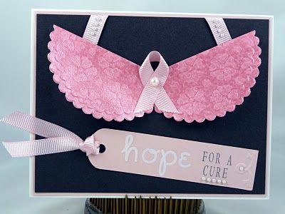 MaricopaStamper: My Sheri Crafts Challenge #25: Breast Cancer Awareness
