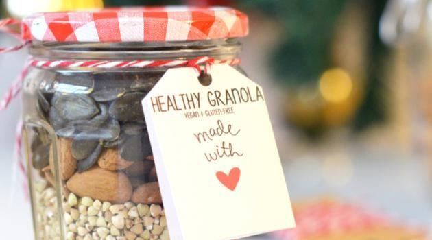 Cadeau gourmand : kit granola homemade (vegan, sans gluten)