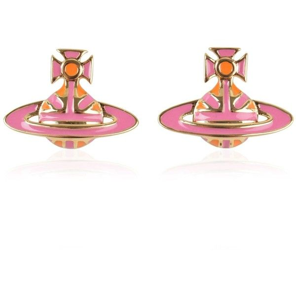 VIVIENNE WESTWOOD JEWELLERY Jack Orb Earrings ($72) ❤ liked on Polyvore featuring jewelry, earrings, vivienne westwood earrings, earring jewelry, vivienne westwood jewellery, union jack earrings and vivienne westwood jewelry