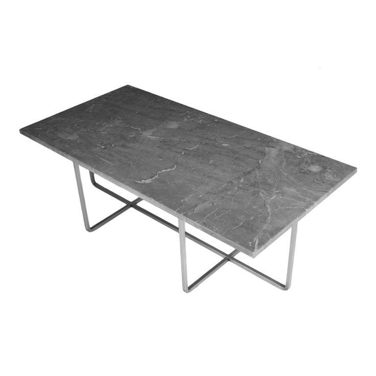 Ninety Table 120x60 cm Marmor Grå Soffbord | OX Denmarq | Länna Möbler | Handla online