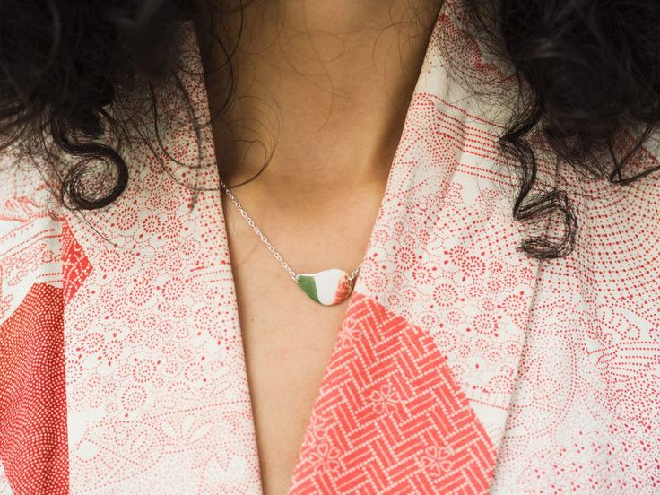Orbit necklace (recycled silver)