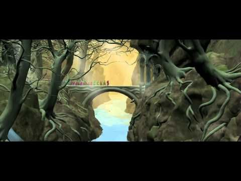 VFX of The Hobbit: The Desolation of Smaug /// It's actually really depressing, the amount of CGI used in the movie. I liked it better when they were on location more, making good use of the beautiful natural New Zealand landscape.