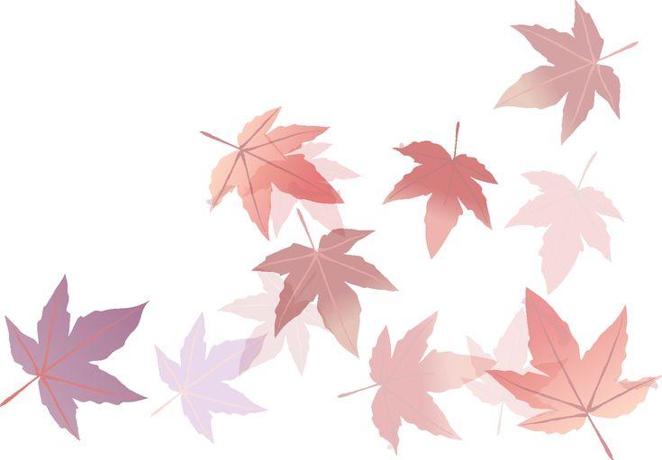 淡い色彩。紅葉のイラストのアイデア