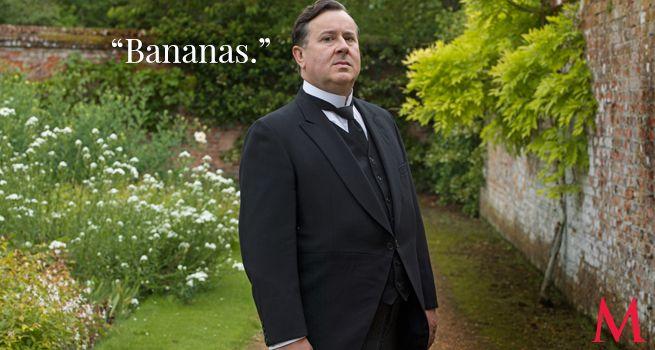 Downton Abbey Season 6 Episode 8 ..Jeremy Swift ..Cassandra Jones, in the flesh!..