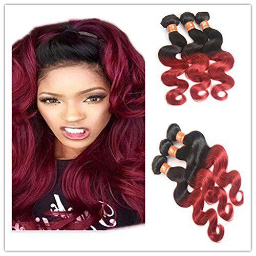XQXHair Chaud le prix de vente Promotion 8 a Ombre brésilien 3 faisceaux brésilien corps vague Ombre humaine cheveux armure de cheveux…