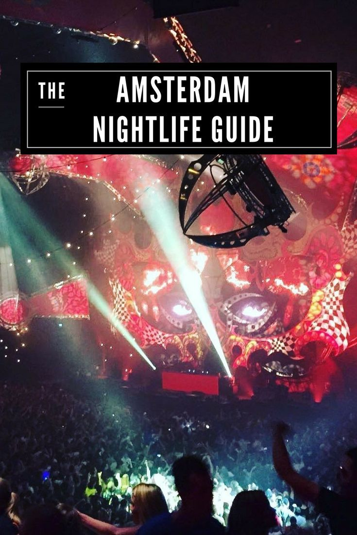 Top Clubs in Amsterdam that every party animal must hit up. Travel in the Netherlands.
