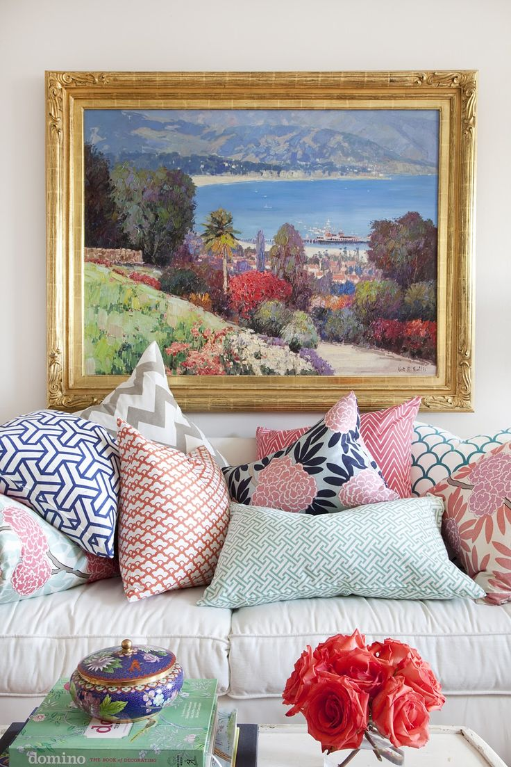 Like mixing prints on your bod? You'll love mixing patterns in your home. We have 23 inspo-filled ways here.