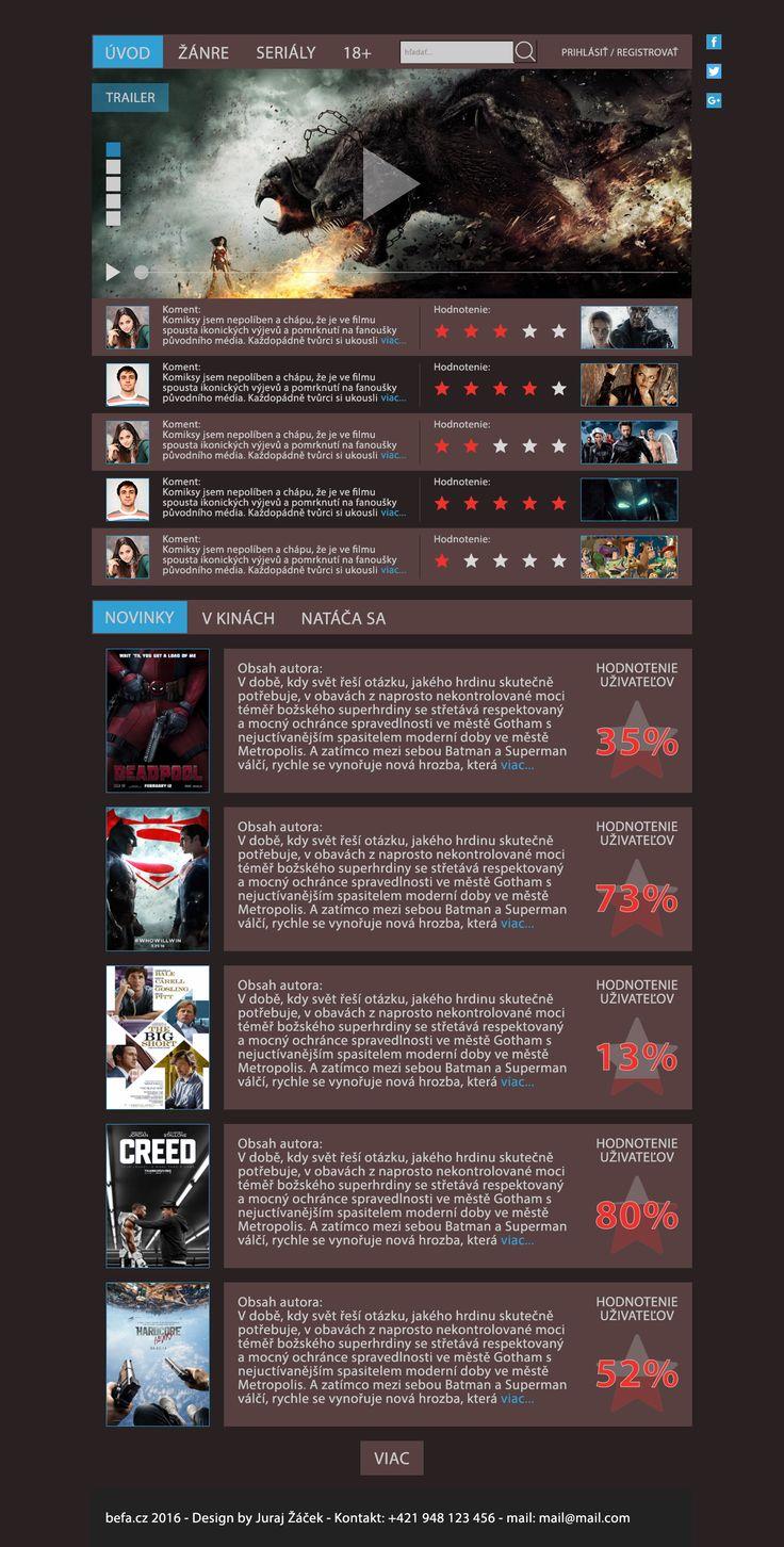 webdesign movie site