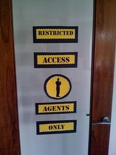 Agency D3  Doing something similar to this would be fun for the outside of the cabin door.