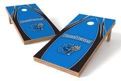 SUNY Fredonia Blue Devils Single Cornhole Board - The Edge